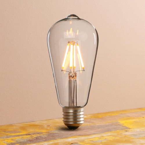 Vintage/Retro Filament Dimmable E27 ST64 LED Edison Bulb