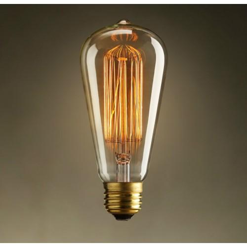 E27 40w Edison Style Industrial Vintage Filament Light Bulb