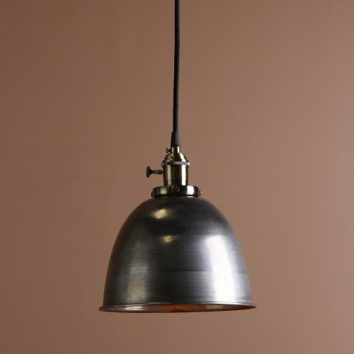 Retro Industrial Bronze Fitting Varnish Iron Shade Pendant Light