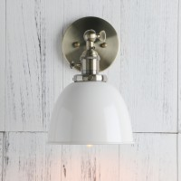 Retro Style Iron Loft Cafe Rustic Bronze Wall Light