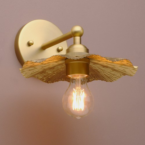 PATHSON RETRO INDUSTRIAL MINI WALL SCONCE LIGHT IRON LAMPSHADE ANTIQUE WALL LAMP