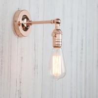 Industrial Vintage Retro Metal Sconce Wall Light Edison Bulb