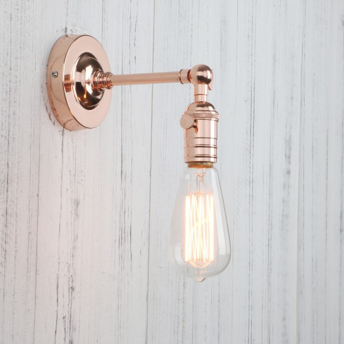 Industrial Vintage Retro Metal Sconce Wall Light Edison Bulb