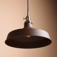 "13.8""  Metal Shade Industrial Loft Bar Warehouse Pendant Light"