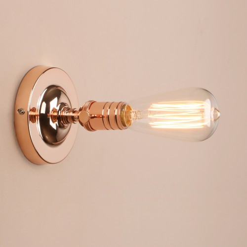 Antique Industrial Loft Lampholder Flushmount Pendant Light