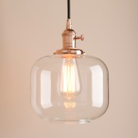 Chic Vintage Industrial Clear Glass 3 Core Cord Pendant Light