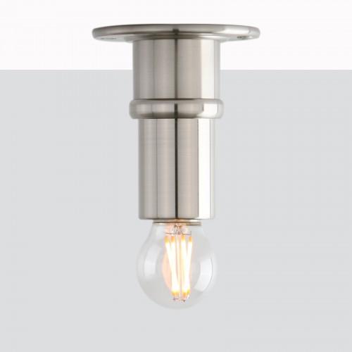 Retro Industrial Edison Loft Bare Lampholder Wall Sconce Flushmount Lamp