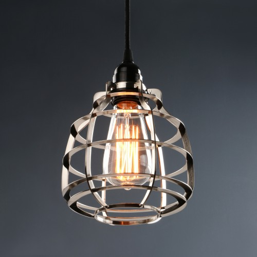 Retro Industrial Lamp Metal Hollow Out Loft Rustic Ceiling Pendant Light