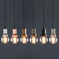 Retro Industrial Lamp Mini Flashlight Shaped Ceiling Pendant Light