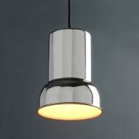 RETRO INDUSTRIAL FLASHLIGHT SHAPED RUSTIC BAR CEILING PENDANT LIGHT