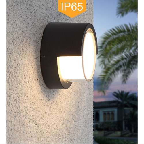 Pathson Outdoor Wall Sconce 8W LED Lamps Waterproof 3000K Warm White Porch Light