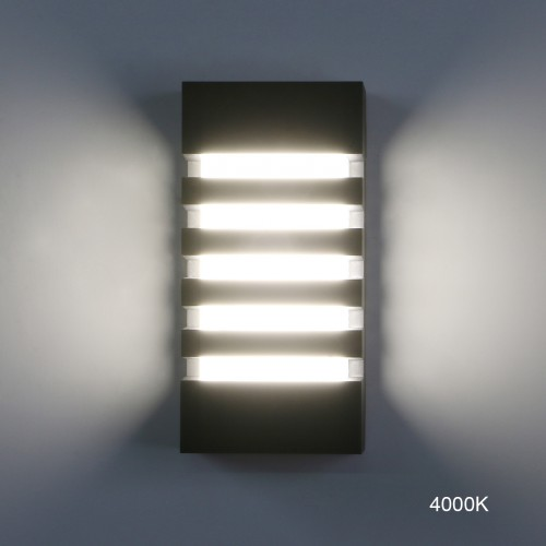 Pathson Outdoor Wall Sconce 12W LED Waterproof Wall Lighting Fixture 3000K Porch Wall Lamp
