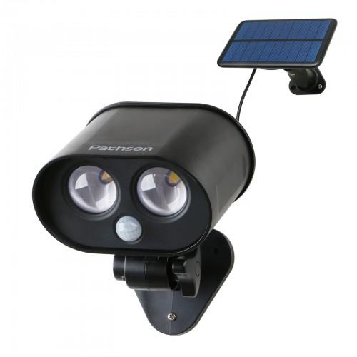 Pathson  Outdoor Solar Spotlights with Split-Type Panel for Porch Garden Garage Driveway