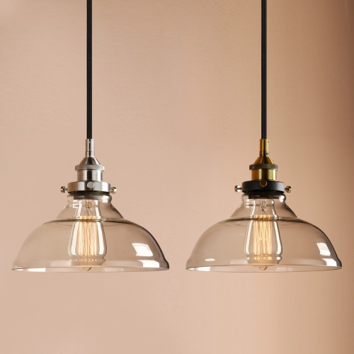 Industrial Pendant Light Vintage Hanging Lamp 1 Light Ceiling Fixture For  Kitchen Island