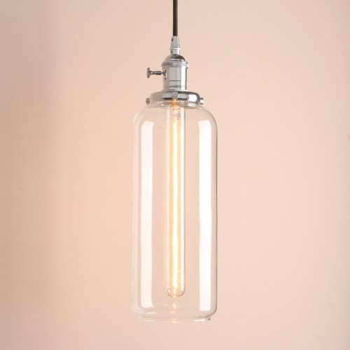 Indoor Pendant Light Kitchen Island Lighting With Glass Shade And - Kitchen pendant lighting glass shades