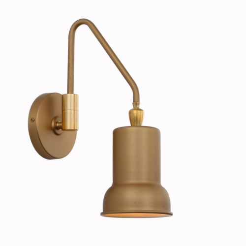 Adjustable Wall Light Fixtures, Hardwired Swing Arm Wall Lamp for Bedside Lighting