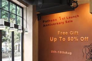 1st Anniversary sale of Pathson Light website store