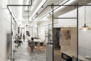 Bangkok iron wind industry's hair salon