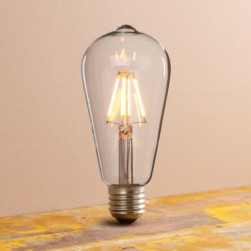 Vintage/Retro Filament Dimmable E27 ST64 LED Edison Bulb