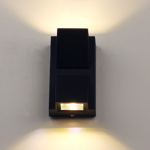 Modern Indoor Outdoor Waterproof LED Wall Lamp Up Down Sconce Lighting Fixture