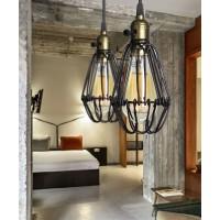Brown Black Industrial Vintage Kitchen Ceiling Pendant Light