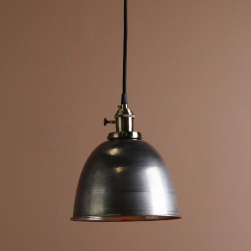 Retro Industrial Bronze Fitting Varnish Iron Shade Pendant Light