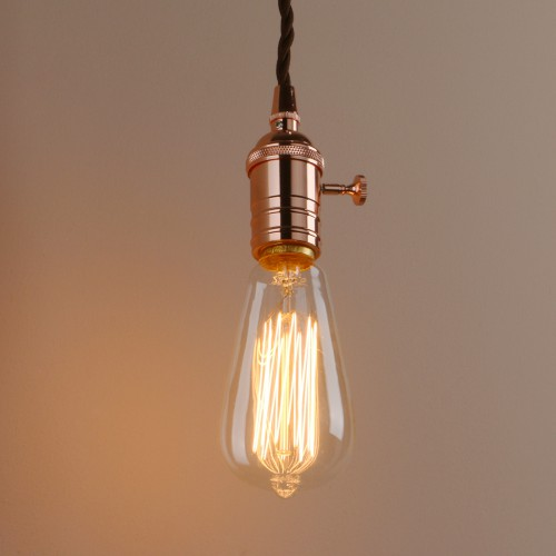 Metal Vintage/Retro Edison Ceiling Pendant Light