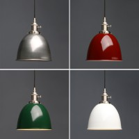 Retro Industrial Brushed Fitting Iron Lamp Shade Ceiling Pendant Light