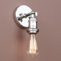 Vintage Industrial Edison Loft Lounge Bar Lampholder Sconce Wall Light Lamp